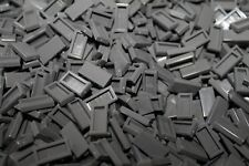 100 x LEGO® Tile / Fliese 1x2 ( 3069 ) in Neu Dunkel Grau / Dark bluish Gray NEU
