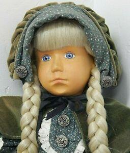 "ANNIE 19"" Camelot Handcrafted Wood Doll w/Cloth Body"