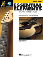 Essential Elements for Guitar Book 1 - Book/Online Audio 862639