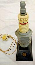 Vintage 1950s Champion Spark Plug AM Radio