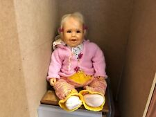 Sybille Sauer Resin Doll 59 Cm. Top Condition