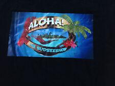 Señores t shirt negro südseemotiv tamaño M o XL Aloha!