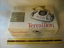New Terraillon Body Fat Analyser THA Handheld Oversized Readout