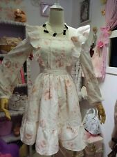 **US SELLER** FLORAL RIBBON HIME CUTE VIVI HIME GYARU LIZ LISA DRESS JAPAN