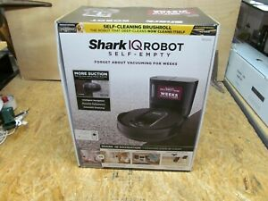 Shark RV1000S IQ Robot Vacuum Cleaner with Self-Empty Base ( LOT A204)