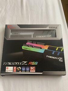 G.Skill Trident Z RGB 16GB (2 x 8GB) DDR4 3000MHz RAM F4-3000C15D-16GTZR
