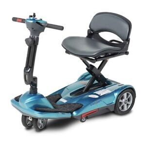 EV Rider Easy Move foldable transport Mobility scooter Transport M BLUE