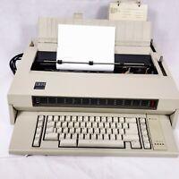 Vintage IBM Wheelwriter 3 674X Electronic Typewriter 1984 w/ AC Cord