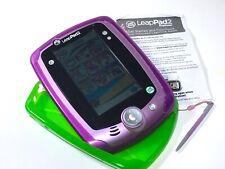LeapFrog * LeapPad2 EXPLORER * Purple Learning Tablet + incl Apps + 2 Cases