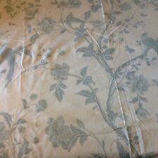 laura ashley Summer Palace Off White/duck Egg 2meters