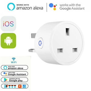 Smart Plug Outlet Switch WiFi Socket Remote Control App Amazon Alexa Google Home