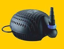 Osaga Teichpumpe schwarze Flunder Eco OSF-8100E Teichfilter u. Bachlaufpumpe Koi