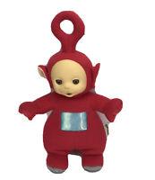"1998 Vintage Teletubbies Po Plush Doll 12"" Playskool Red Talking Works"