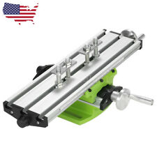 Milling Machine Work Table Compound X Y Axis Cross Slide Bench Drill Press Vise