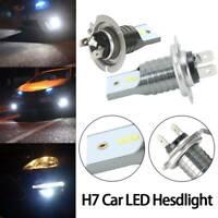 Nighteye H7 LED Fog 55W Light Bulbs Kit Car Driving Lamps Cool White