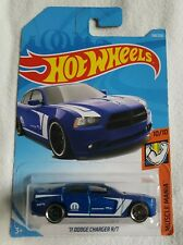 2019 Hot Wheels '11 DODGE CHARGER R/T 158/250 ~ 10/10 MUSCLE MANIA [BLUE] - NIB