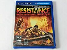 Resistance: Burning Skies for Sony PlayStation Vita **BRAND NEW FACTORY SEALED**