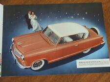 1955 American Motors Rambler range original US 16 page brochure