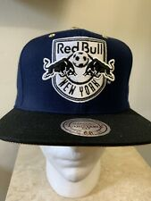 MITCHELL & NESS NAVY BLUE/GOLD RED BULL/NEW YORK ADJUSTABLE SNAPBACK HAT