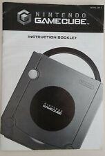 Nintendo GameCube Console System Instructions Manual