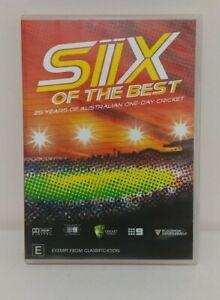 Six Of The Best 25 Years Of Australian One Day Cricket DVD PAL Region 4