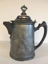Wm A Rogers Quadruple Plate New York Teapot Coffee Pot #56