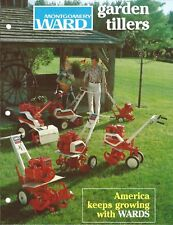 Garden Equipment Brochure - Montgomery Ward - Power Gear Chain Tillers (LG62)