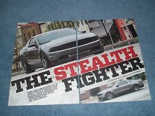 """2011 Mustang GT Article """"The Stealth Fighter"""""""