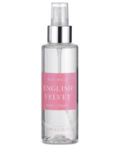 Jack Wills ENGLISH VELVET Body Spray Fragrance - 125ml - Brand New