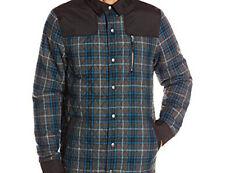 686 Parklan Exile Insulated Jacket (L) Blue Plaid