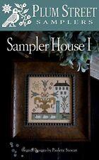 SAMPLER HOUSE I CROSS STITCH CHART-PLUM STREET SAMPLERS