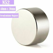 Large Magnet 4020mm Neodymium Rare Earth Big Super Strong Huge Magnests N52