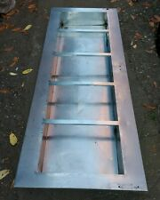 More details for reclaimed stainless steel industrial sink unit (448g)