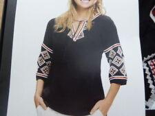 Esmara Kleid Heidi Klum aktuelle Kollektion 40 Tunika Lidl schwarz