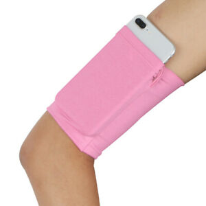 1pc Sports Arm Band Strap Holder Pouch Phone Armband Bag For Yoga Walking Hiking