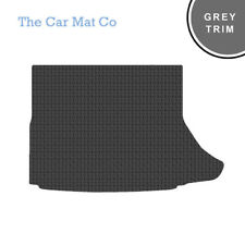 Lexus CT200H 2014-Present Fully Tailored Black Rubber Boot Mat With Grey Binding