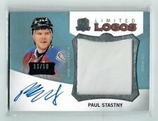 12-13 UD The Cup Limited Logos  Paul Stastny  /50  Auto  Patch