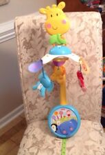 Fisher Price Discover 'n Grow 2-in-1Take Along Musical Mobile EXCELLENT SHAPE