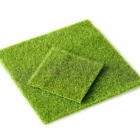 Artificial Grass Garden Ornament Fairy Dollhouse Fake Lawn Miniature Craft Decor