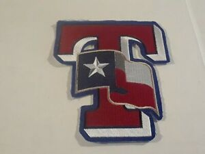 The Lone Star State of Texas Flag Patch TX Rangers Major League Baseball MLB