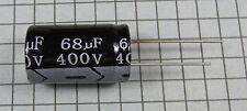 68uF 400V 105ºC 16x25mm Electrolytic Capacitor: 4pcs per lot