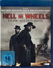 HELL ON WHEELS, Staffel 1 (3 Blu-ray Discs) NEU+OVP