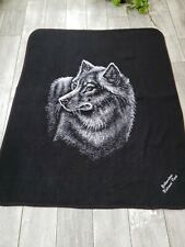 Earth Ragz Yellowstone National Park Wolf Blanket