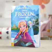 In The Book With FROZEN Personalised Disney Story Book with your Name & Message
