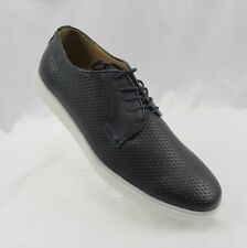Adolfo Men's Woven Lace Up Casual Oxford Fashion Sneakers 11.5 Navy Jason-2 NEW