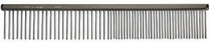 Chris Christensen 000 Fine/Coarse Buttercomb | 7 ½ inche Pet Grooming Comb ma...