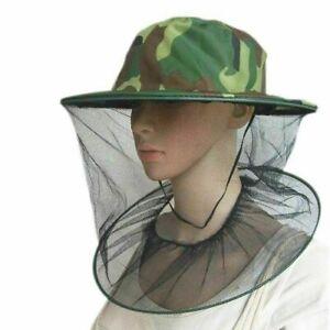 Jägerhut Jagd Jagdhut Tropenhut Hut Mütze mit Insektenschutz Mückenschutz NEU