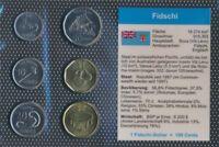 Fidschi-Inseln stempelglanz Kursmünzen 2012 5 Cent bis 2 Fidschi-Dollar (9031247