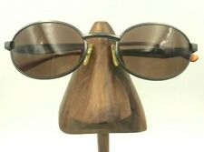 Vintage Fila Sf8099 52 627 Gunmetal Oval Eyeglasses Sunglasses Frames Italy