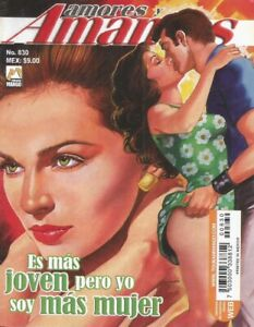 AMORES Y AMANTES MEXICAN COMIC #830 MEXICO SPANISH HISTORIETA 2013 ROMANCE